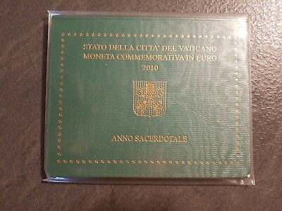 Coffret Officiel 2 euro commemorative VATICAN 2010  NEUF
