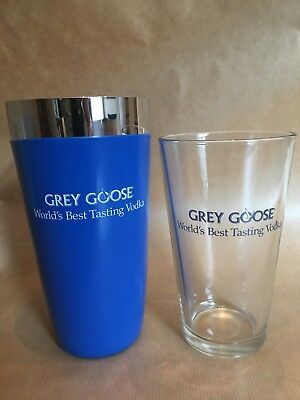 Grey Goose Vodka Cocktail Shaker Boxed And Unused
