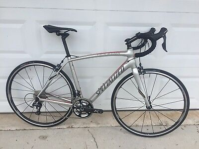 2014 Specialized Roubaix Expert SL4 54cm Road Bike with new, unridden wheels NR