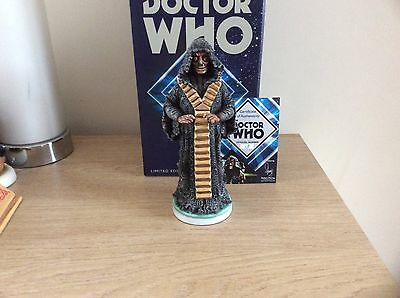 Robert Harrop DOCTOR WHO22 THE MASTER 1976 THE DEADLY ASSASSIN LTD ED 200