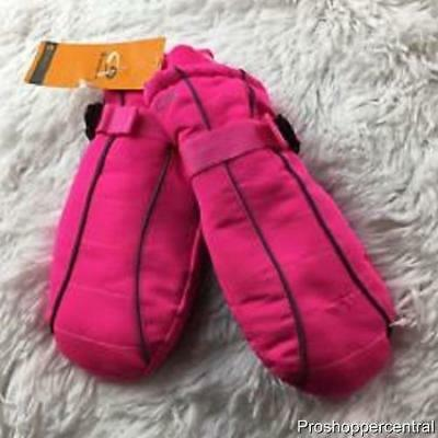 NEW C9 by Champion 3M Thinsulate Pink Girls' Mittens - Size 4/7, Waterproof