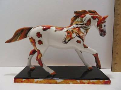 """The Trail of Painted Ponies """" Petroglyph Pony """" 1E/9247 Lynn Bean #12290 SIGNED"""