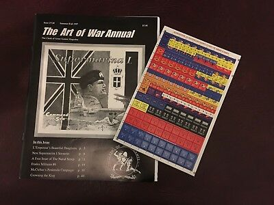 The Art of War Annual - Issue 27/28 (1997) + Counters - Clash of Arms Games