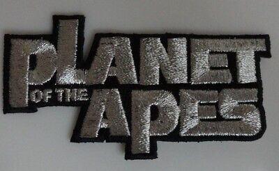 Planet of the Apes Logo - Classic Movie Embroidered Iron On Patch - New - Rare