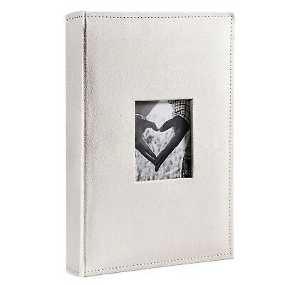 FaCraft Wedding Photo Album Holds 300 4x6 Inch Photos with Memo Area and Fabr...