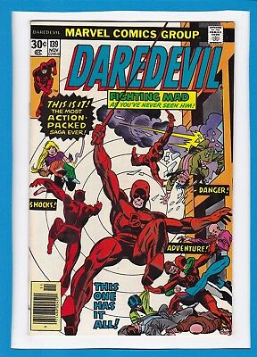 "Daredevil #139_Nov 1976_Very Fine/near Mint_""a Night In The Life_Bronze Age!"