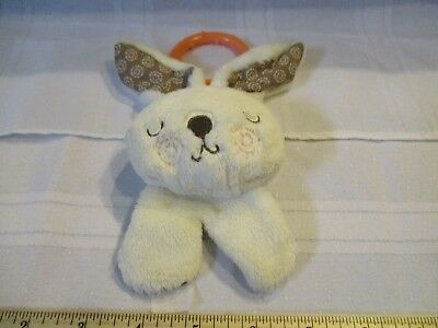 Fisher-Price Forest Friends Bunny Rabbit Rattle Clip on Infant baby toy part