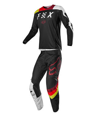 New Fox Racing 180 Limited Edition Youth RODKA MX Jersey and Pants - Light Grey
