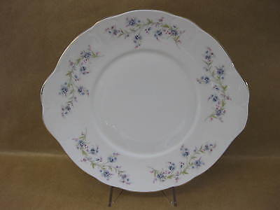 Pretty Vintage Duchess Cake / Sandwich Plate ~ English China ~ Forget Me Not