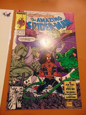 THE AMAZING SPIDER-MAN  #319 (Sep 1989, Marvel)  Todd McFarlane art