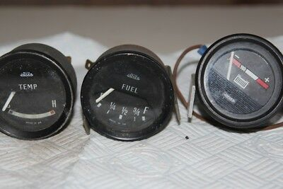 Jaeger Gauges - Fuel, Temp, Battery