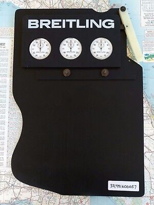 Rare Vintage Breitling Multi Sequence Race Timing Board Heuer Autavia Navitimer