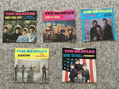 Rare set of Beatles Decca Auditions Promo 45's!!