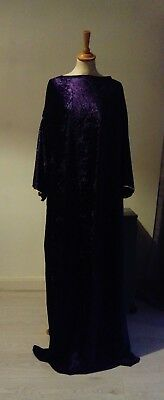 tunic costume LARP cosplay, theatre - medieval fantasy style, crushed velvet