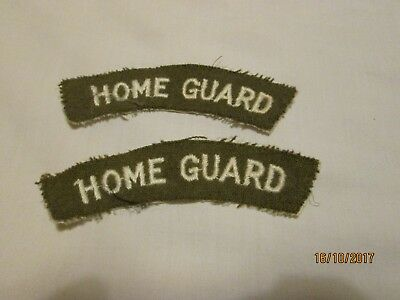 Home Guard shoulder flashes