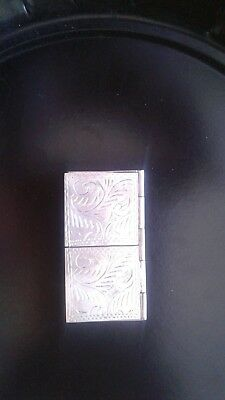 Sterling pill/ snuff box..or essential oils case. Sterling silver. Double sided.