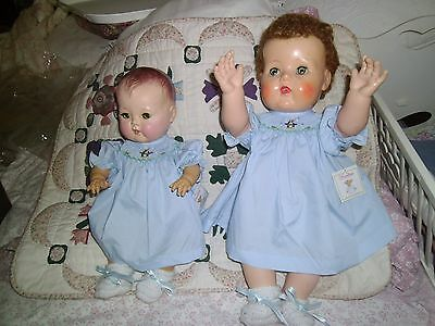 """No Doll 1 Dress Only Fits 18"""" Tiny Tears Toodles Christmas  Beautifully  Made"""