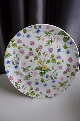 """Queens Discontinued Collectable Country Meadow 8¼"""" Snack Plate- Pristine"""
