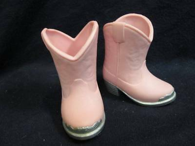 """Madame Alexander Doll Boots - Pink Cowboy Boots for 18"""" Doll #58"""