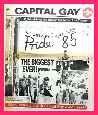 Capital Gay 1985 Photo 6x4 AIDS History LGBT Pride 4x6 Divine Barbara Windsor