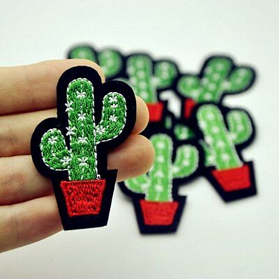 Iron On Applique Patch Sew Cute Embroidery Fabric Badge Garment DIY Accessories