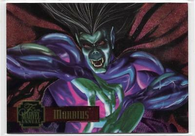 1995 Flair Marvel Annual Powerblast Foil (10) MORBIUS