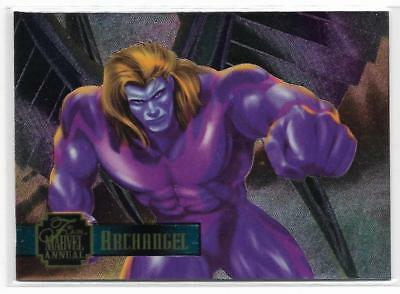 1995 Flair Marvel Annual Powerblast Foil (16) ARCHANGEL