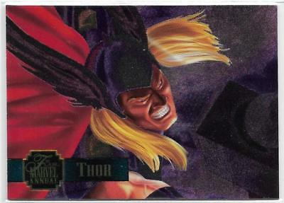 1995 Flair Marvel Annual Powerblast Foil (20) THOR
