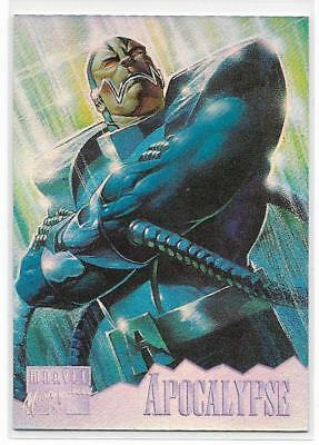 1995 Fleer Marvel Masterpiece Holoflash ( 1 of 8 ) APOCALYPSE