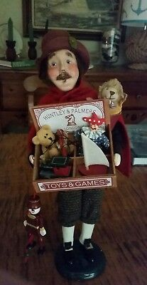 Byers Choice Carolers~ The Toy Vendor~ 1992, The Criers' Choice of London