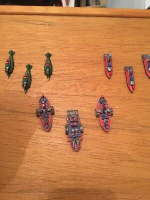 * Large Dwarf Fleet * Games Workshop Man O War * Good Paint Job
