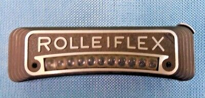 Authentic Rolleiflex Tlr Camera Cell & Name Plate 2.8F Amazing Condition