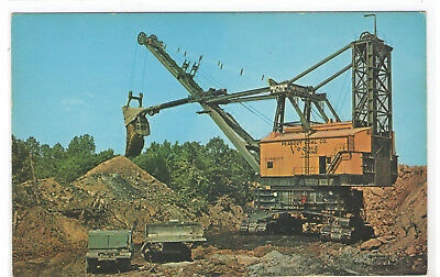 FMRA VOGUE STRIP MINE COAL MINING KY MADISONVILLE CENTRAL CITY POSTCARD sg720