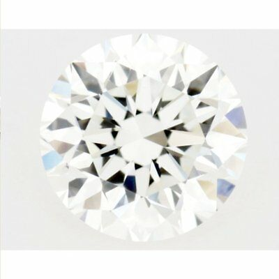 Fiery 2.87 ct 9.85 mm VVS1 Off White Yellow tint Round Cut Loose Moissanite