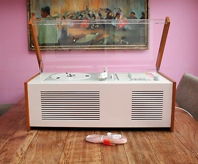 UNIQUE! Full Restored! The FIRST BRAUN SK 4 Tube Radio Record Player D. RAMS