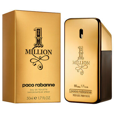 1 x 1 MILLION PACO RABANNE 50 ml. EDT NEU & OVP