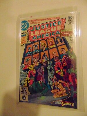 JUSTICE LEAGUE OF AMERICA #195 (Oct 1981, DC)   .25 AUCTIONS WITH NO RESERVE