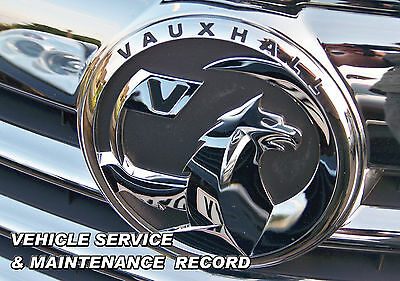 Blank Service History Book Suitable For Vauxhall Corsa Astra Vectra Meriva