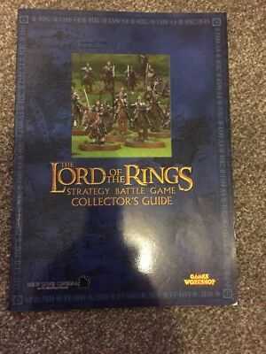 Lord Of The Rings Strategy & Collectors Guide Blue 3rd Edition  Games Workshop