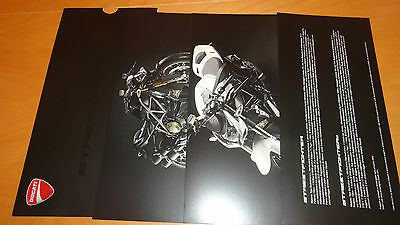 Ducati Streetfighter Motorcycle Advertising with Slipcase 2009