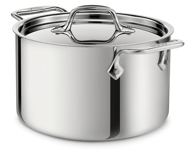 All Clad 4 QT Stainless Steel Casserole Dish