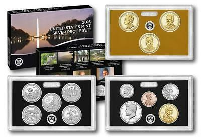 2016 S US Mint Silver Proof 13 Coin Set