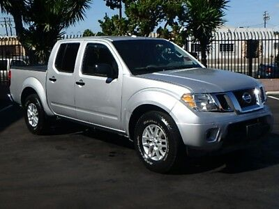 2015 Nissan Frontier SV 2015 Nissan Frontier SV Crew Cab Wrecked Repairable Nice Project Low Miles L@@K!