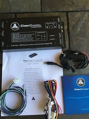 JL Audio CleanSweep CL441dsp great condition, little use.