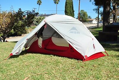 MSR Hubba NX one person tent.