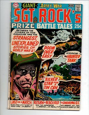 """Our Army at War #216 (1970, DC) FN/VF 7.0 """"HAS G-58 ON COVER BY MISTAKE"""""""
