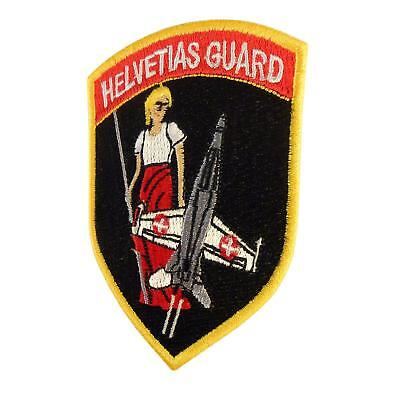 Swiss Air Forces Helvetias Guard F-18 Hornet tactical parche sew iron on patch