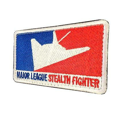 USAF lockheed f-117 nighthawk major league stealth parche hook-and-loop patch