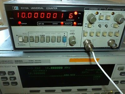 HP Agilent Keysight 5316A HP-IB Programmable Universal Frequency Counter