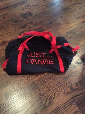 Dance Bag Just dance Black And Red